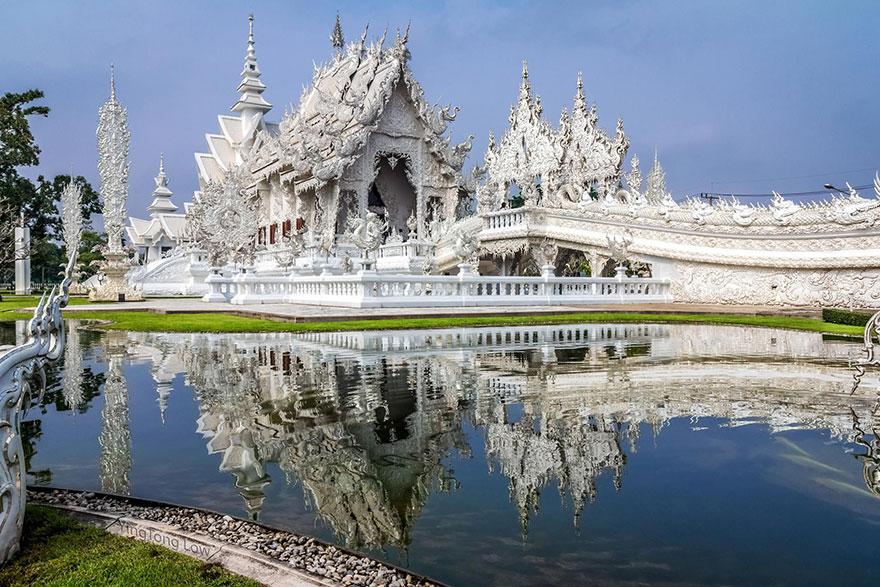 Wat Rong Khun, El templo Blanco de Tahilandia