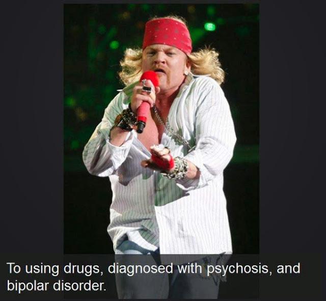 10 famosos conocidos mundialmente antes y después de su adicción a las drogas. - 10