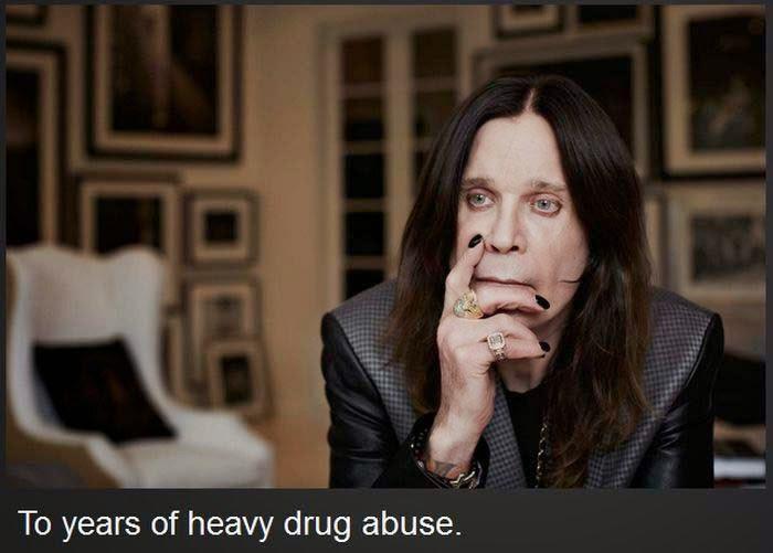 10 famosos conocidos mundialmente antes y después de su adicción a las drogas. - 14