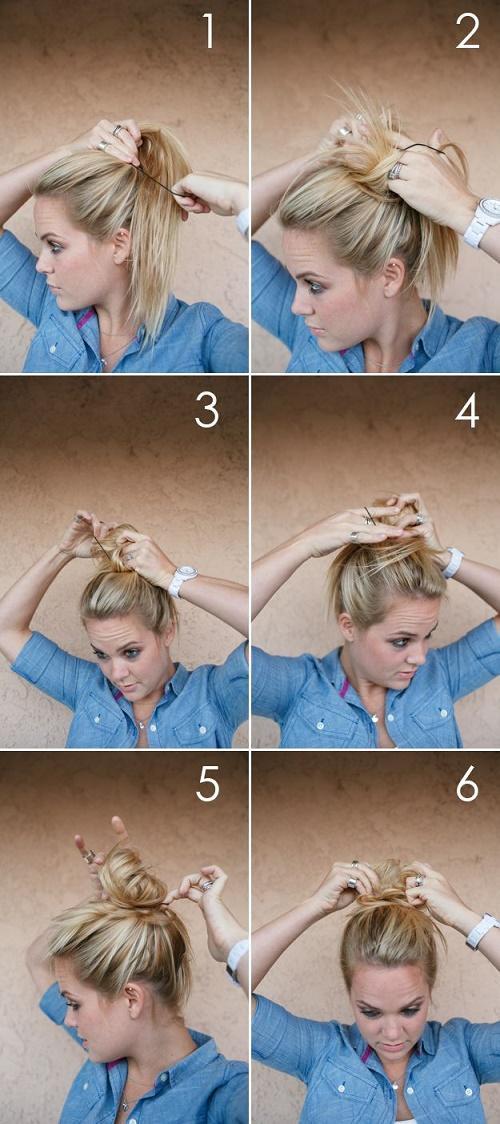 17 peinados rápidos y fáciles para cuando ni tienes tiempo ni ganas de complicarte 10