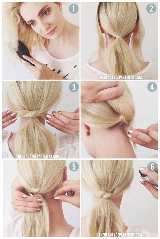 17 peinados rápidos y fáciles para cuando ni tienes tiempo ni ganas de complicarte 2