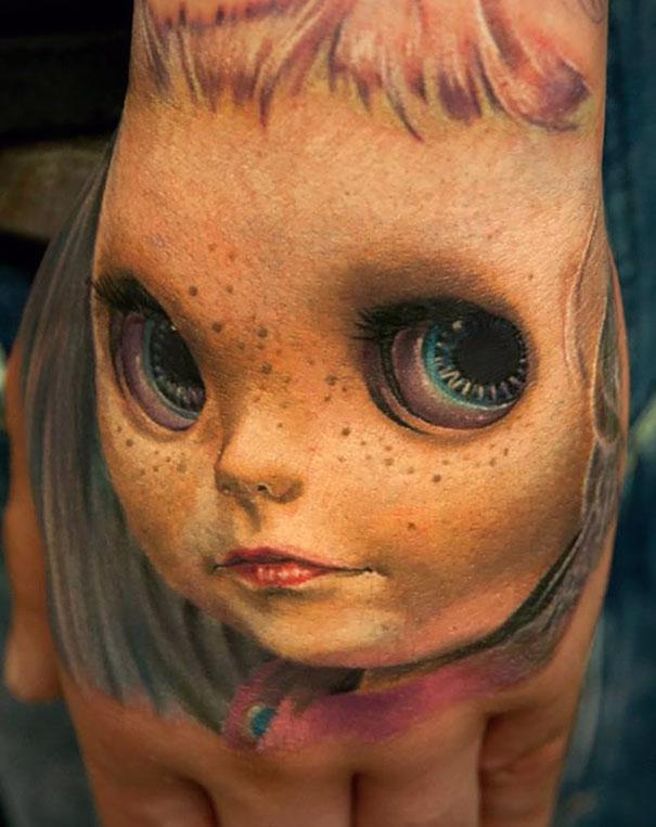 50 impresionantes tatuajes realistas en 3D que te dejarán con la boca abierta. - 13