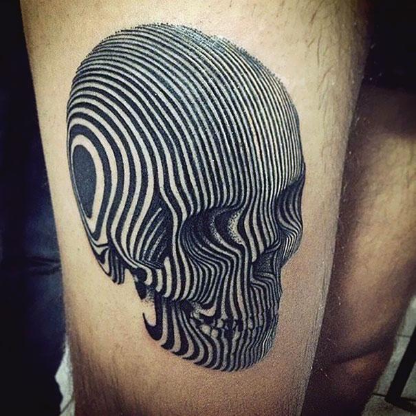 50 impresionantes tatuajes realistas en 3D que te dejarán con la boca abierta. - 22