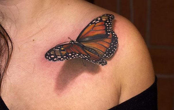 50 impresionantes tatuajes realistas en 3D que te dejarán con la boca abierta. - 4