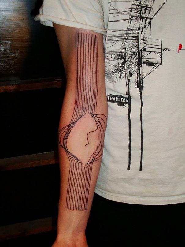 50 impresionantes tatuajes realistas en 3D que te dejarán con la boca abierta. - 45