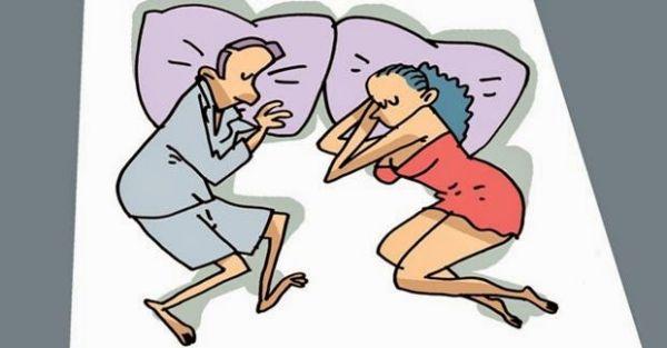 La pareja y el significado de las posiciones en las que duermen - 10