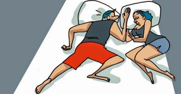 La pareja y el significado de las posiciones en las que duermen - 4
