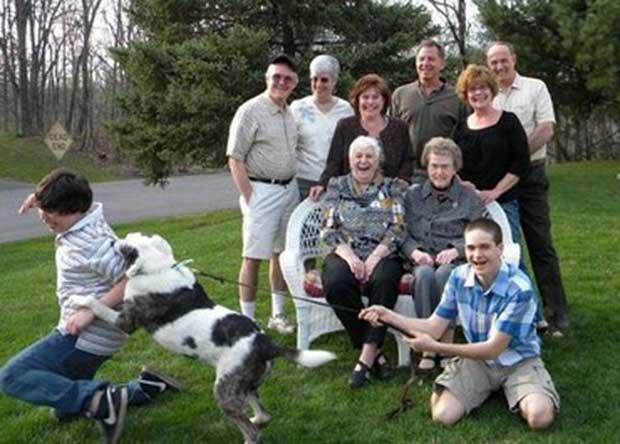 18 Fotos familiares con un resultado inesperado - 1