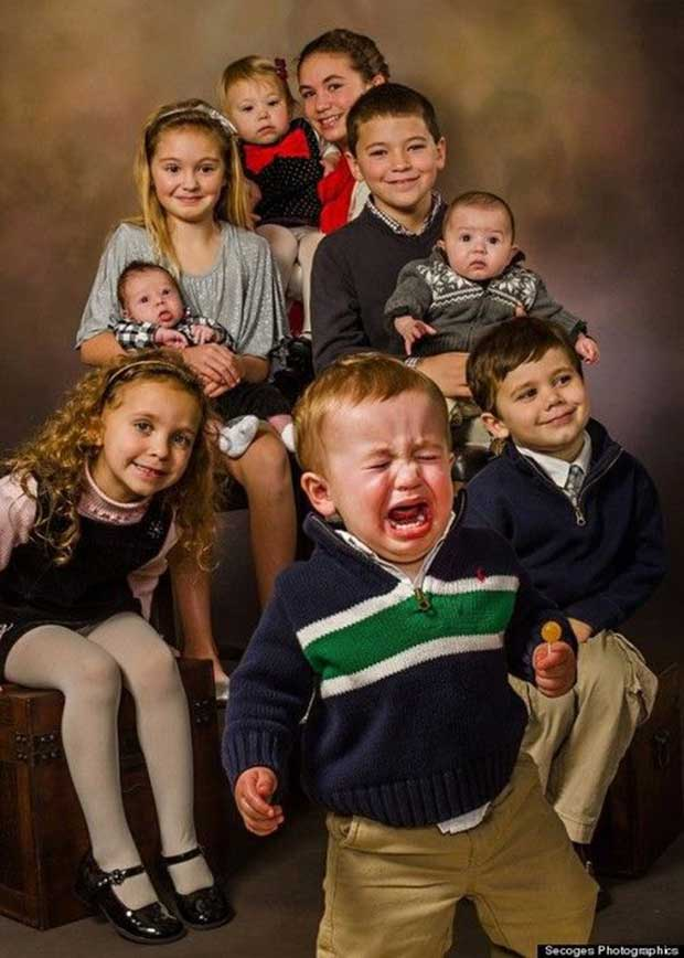 18 Fotos familiares con un resultado inesperado - 11