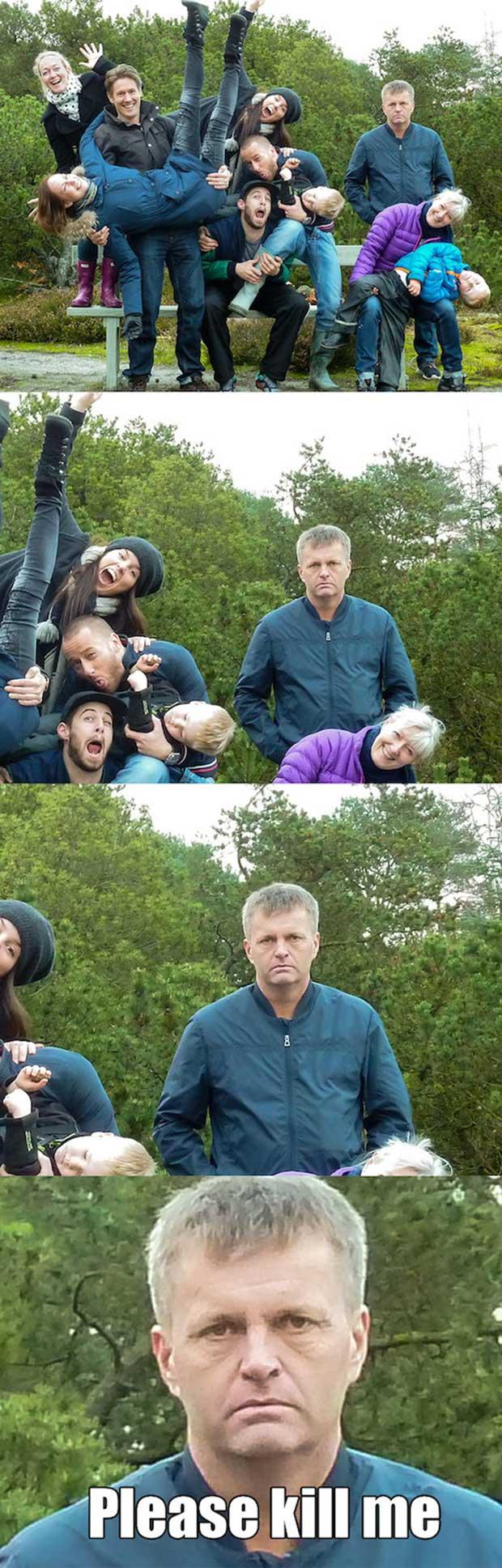 18 Fotos familiares con un resultado inesperado - 17
