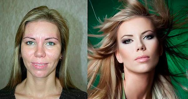 """25 imágenes que te demostrarán que no hay mujeres feas sino """"mal arregladas"""". ¡Increíble lo que hace el maquillaje!"""